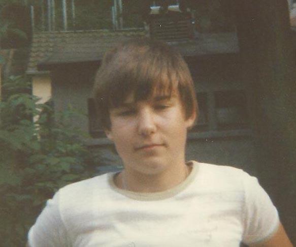 Der Autor dieser Zeilen im Sommer 1985.