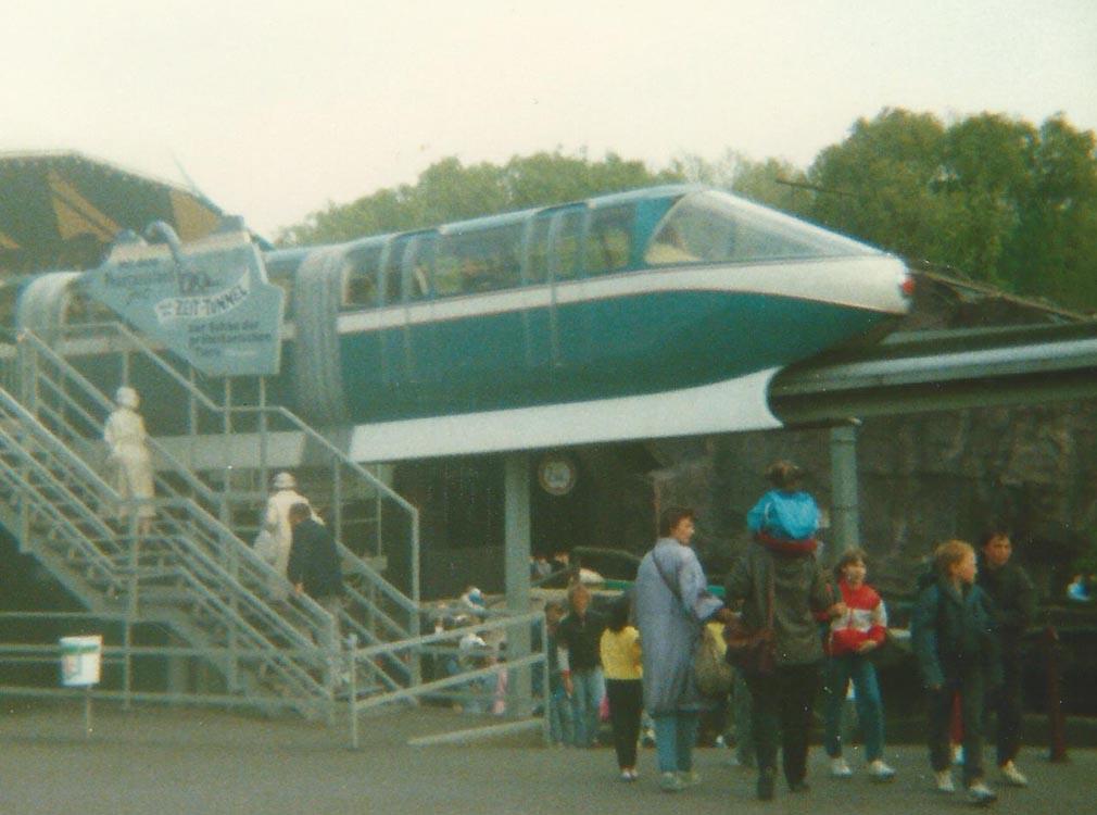 Phantasialand 1987: Einer der ersten Drehorte mit Super 8. Bild: Thorsten Reimnitz