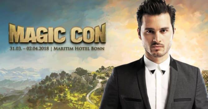 Michael Malarkey aus der Hit-Serie Vampire Diaries kommt zur MagicCon 2018 nach Bonn. Bild: FedCon GmbH